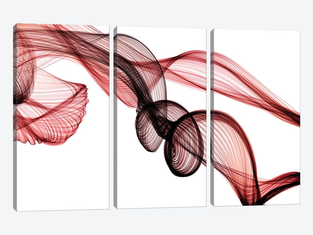 Invisible World II by Irena Orlov 3-piece Canvas Wall Art