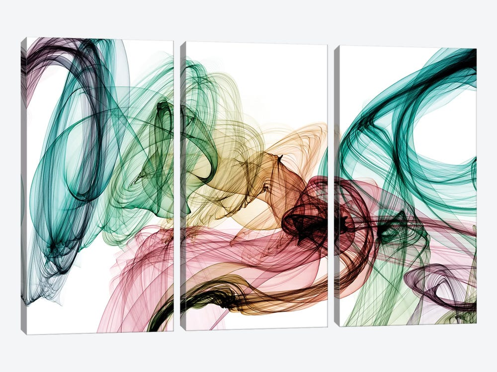Invisible World IV by Irena Orlov 3-piece Canvas Print