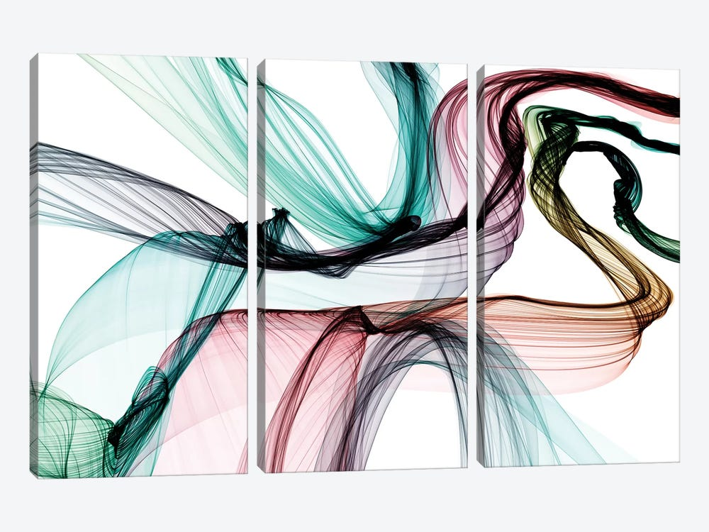 Invisible World VII by Irena Orlov 3-piece Canvas Artwork