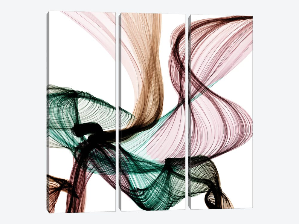 Invisible World VIII 3-piece Canvas Art Print