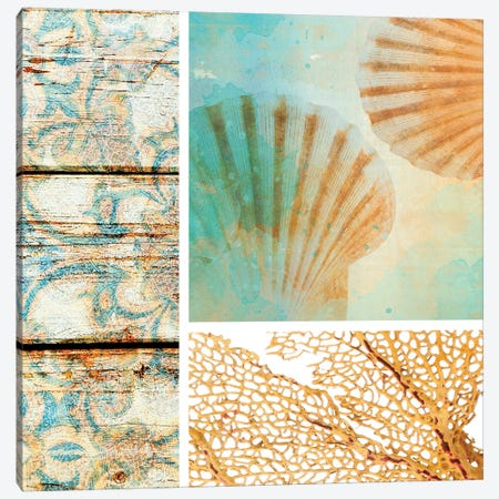 Spa Collage V Canvas Print #ORL211} by Irena Orlov Canvas Print