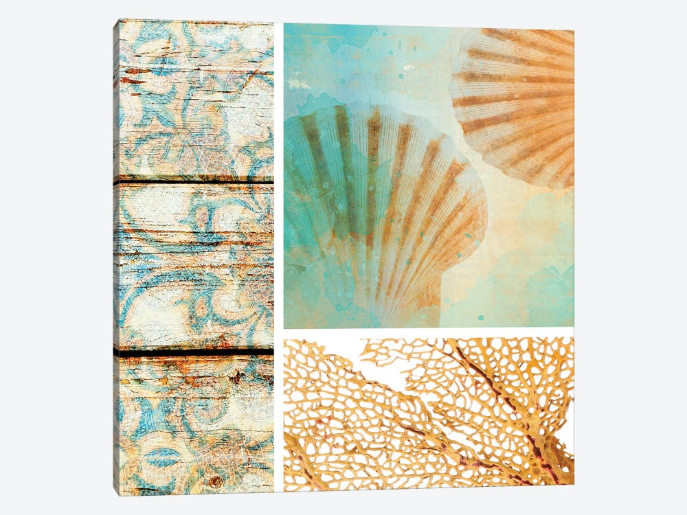 Spa Collage V by Irena Orlov 1-piece Canvas Artwork