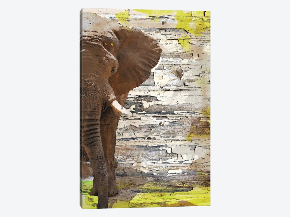 The Elephant I by Irena Orlov 1-piece Canvas Art