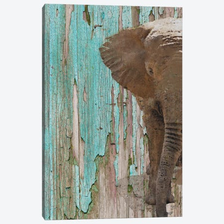 The Elephant II Canvas Print #ORL214} by Irena Orlov Canvas Wall Art