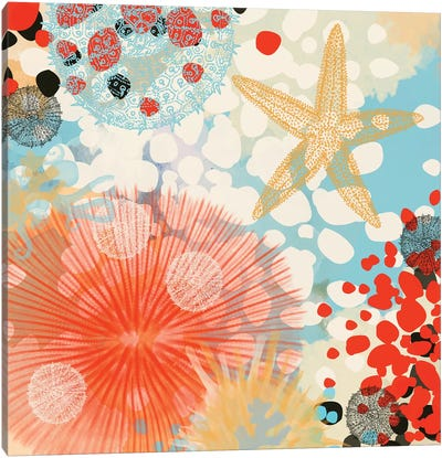 Exotic Sea Life II Canvas Art Print