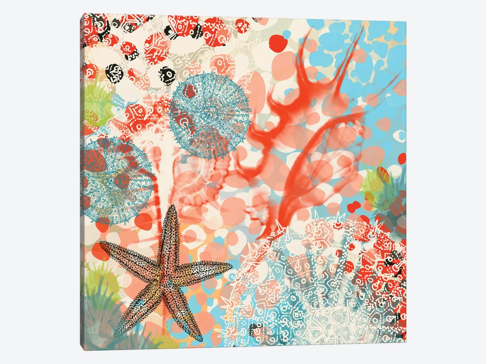 Exotic Sea Life V by Irena Orlov 1-piece Art Print