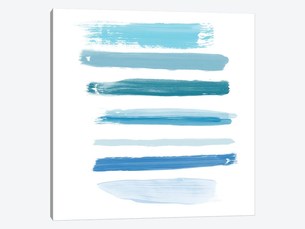 Aqua Brush III 1-piece Art Print