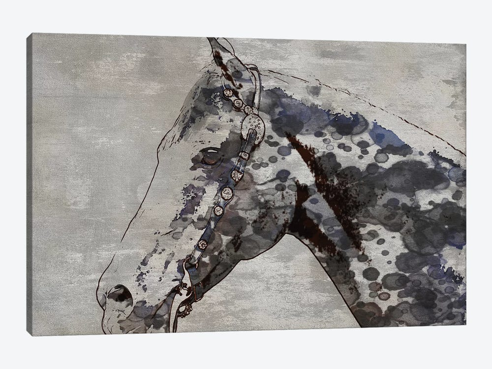 Black Ghost Horse II by Irena Orlov 1-piece Art Print