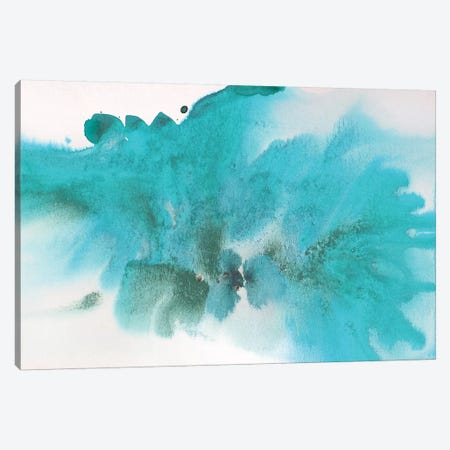 Coastal Abstract 57 Canvas Print #ORL235} by Irena Orlov Canvas Art