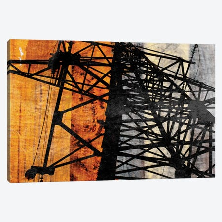 High-Voltage Power Canvas Print #ORL24} by Irena Orlov Art Print