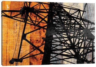 High-Voltage Power Canvas Art Print