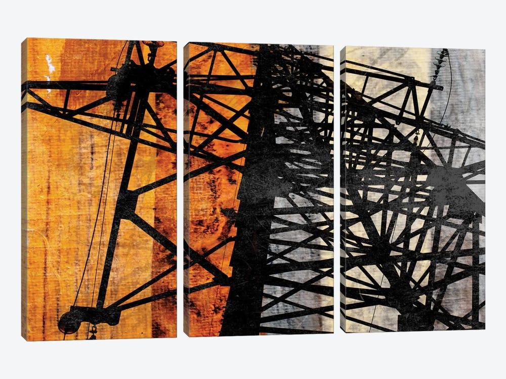 High-Voltage Power by Irena Orlov 3-piece Canvas Artwork