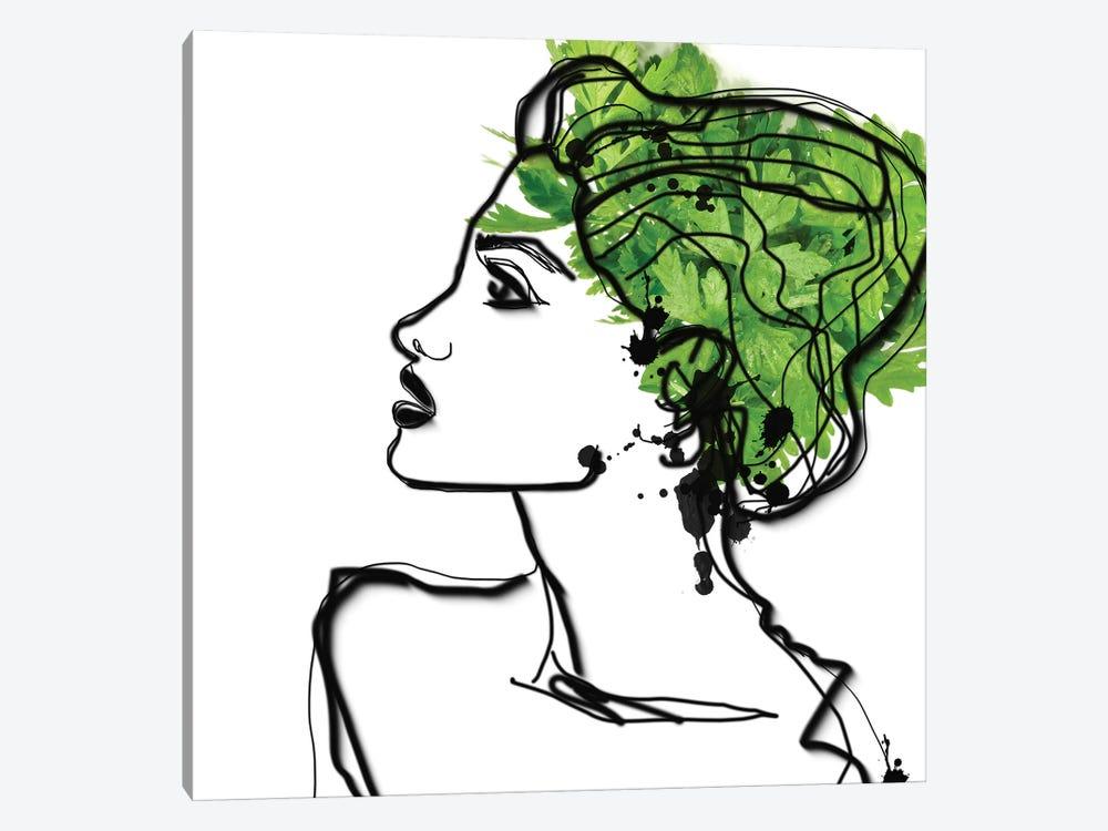 Parsley Hair by Irena Orlov 1-piece Canvas Print