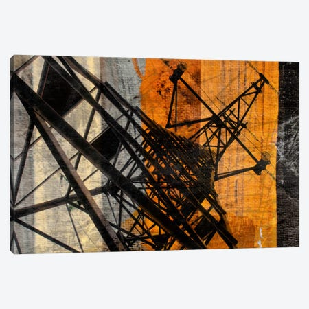 High-Voltage Tower Canvas Print #ORL25} by Irena Orlov Canvas Art Print