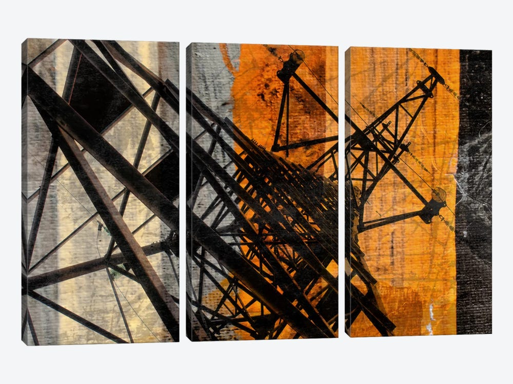 High-Voltage Tower by Irena Orlov 3-piece Art Print