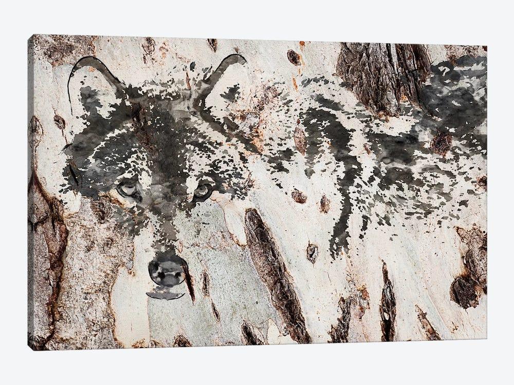 Rustic Wolf III by Irena Orlov 1-piece Canvas Art