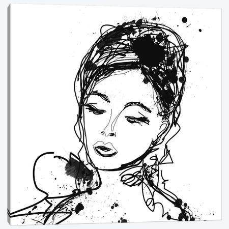 Sensual Woman Canvas Print #ORL263} by Irena Orlov Canvas Art