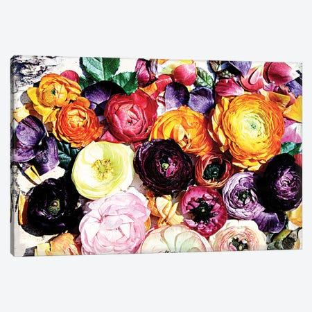 Shabby Chic Flowers 39a Canvas Print #ORL264} by Irena Orlov Art Print