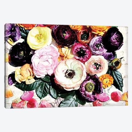 Shabby Chic Flowers 39b Canvas Print #ORL265} by Irena Orlov Art Print