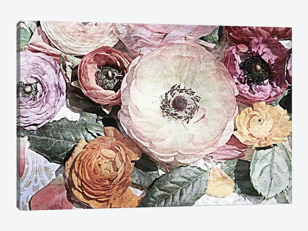 Shabby Chic Flowers 81 by Irena Orlov 1-piece Canvas Artwork