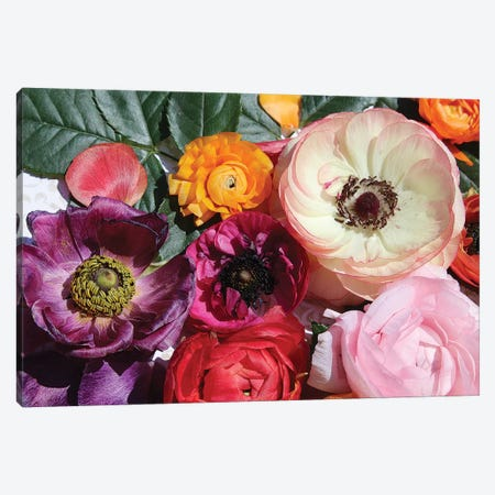 Shabby Chic Flowers 83 Canvas Print #ORL267} by Irena Orlov Art Print
