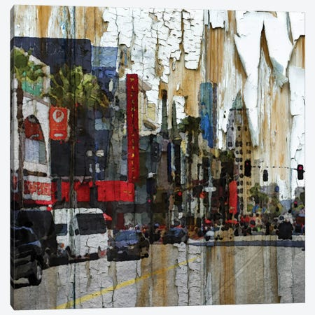 Hollywood Boulevard Canvas Print #ORL26} by Irena Orlov Canvas Print