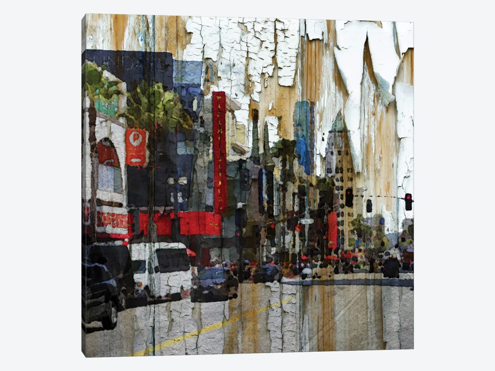 Hollywood Boulevard by Irena Orlov 1-piece Canvas Art