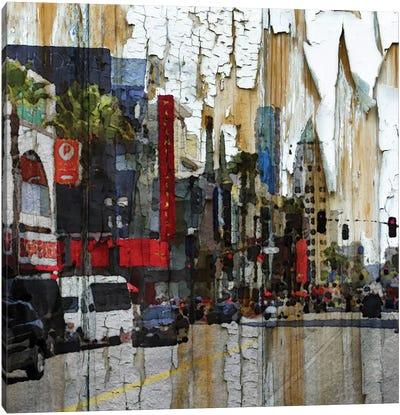Hollywood Boulevard Canvas Art Print