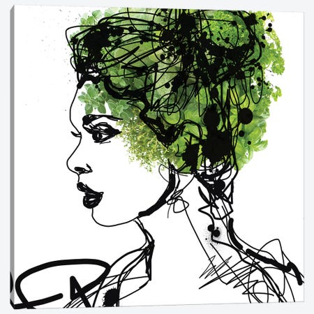 The Garden Goddess 2 Canvas Print #ORL272} by Irena Orlov Canvas Art Print