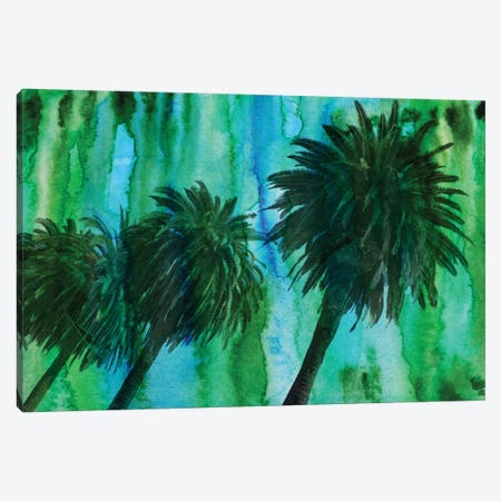 Hollywood Palms Canvas Print #ORL27} by Irena Orlov Canvas Art Print
