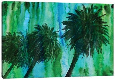 Hollywood Palms Canvas Art Print