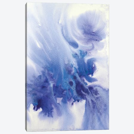 Watercolor Coastal Abstract 31 Canvas Print #ORL280} by Irena Orlov Canvas Art