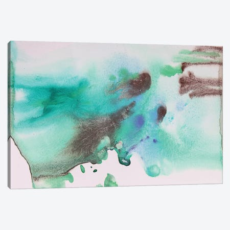 Watercolor Coastal Abstract 65 Canvas Print #ORL282} by Irena Orlov Canvas Wall Art