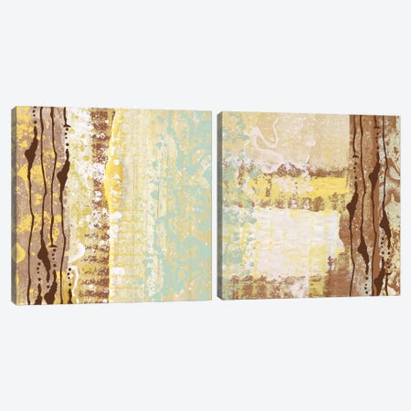 Pattern Diptych Canvas Print Set #ORL2HSET003} by Irena Orlov Canvas Artwork