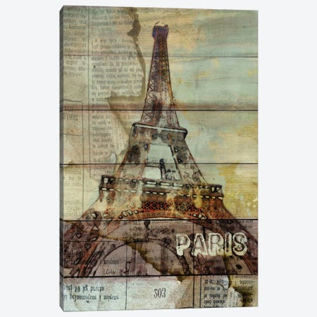 La Tour Eiffel, Paris, France Canvas Print #ORL30} by Irena Orlov Canvas Art Print