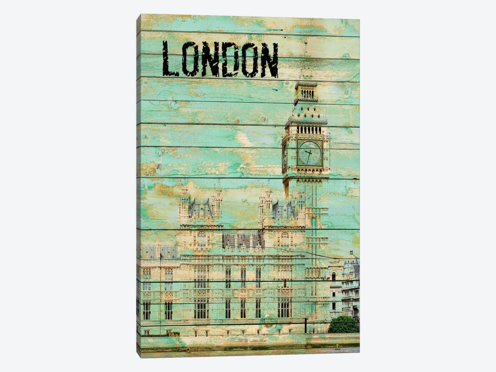 London 1-piece Canvas Artwork