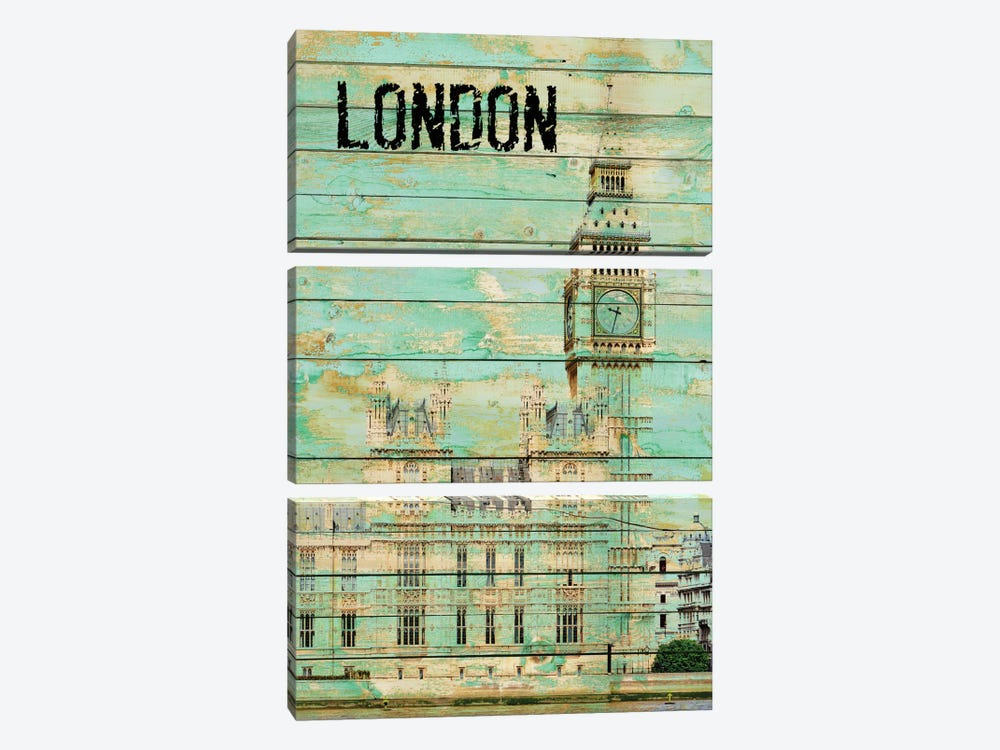 London by Irena Orlov 3-piece Canvas Art
