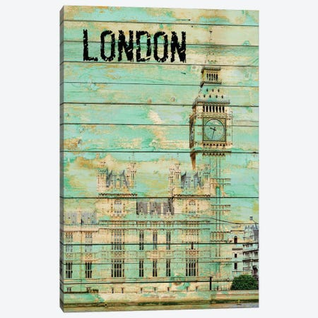 London Canvas Print #ORL31} by Irena Orlov Art Print