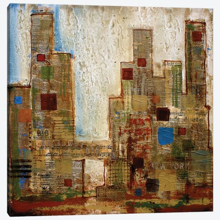 New York Canvas Print #ORL35} by Irena Orlov Canvas Wall Art