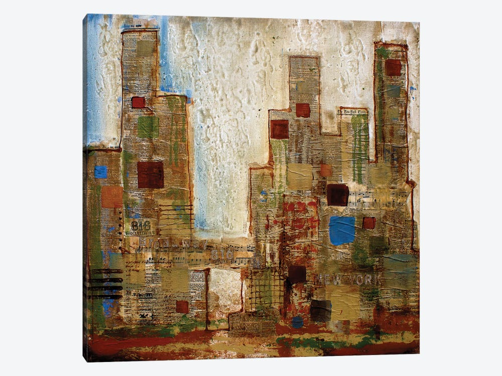 New York by Irena Orlov 1-piece Canvas Art