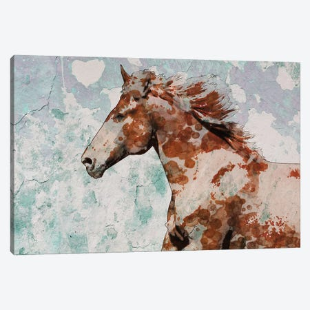 Palomino Paints I Canvas Print #ORL374} by Irena Orlov Canvas Print