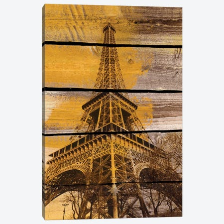Old Eiffel Tower Canvas Print #ORL37} by Irena Orlov Canvas Art