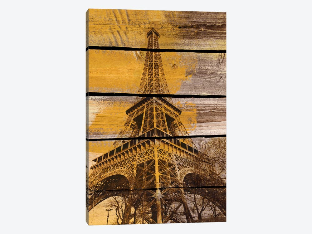 Old Eiffel Tower by Irena Orlov 1-piece Canvas Artwork
