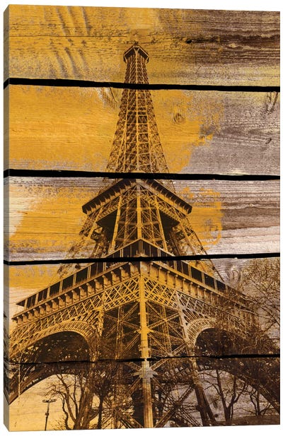 Old Eiffel Tower Canvas Art Print