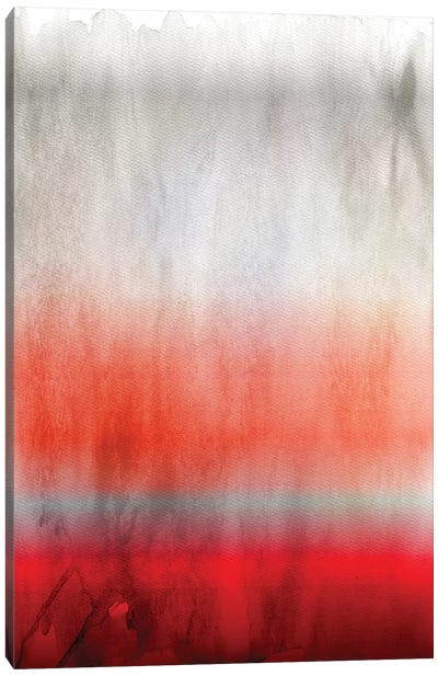 Red Ombre Canvas Art Print