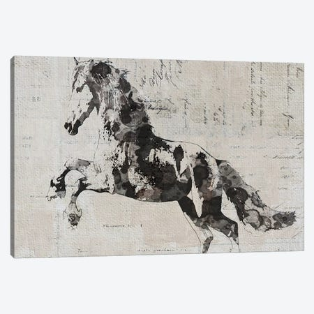 Running Wild Horse II Canvas Print #ORL393} by Irena Orlov Canvas Art