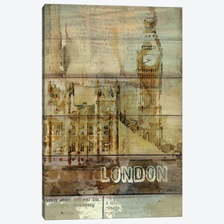 Big Ben, London, England, United Kingdom Canvas Print #ORL3} by Irena Orlov Canvas Print