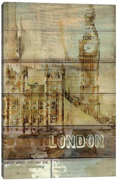 Big Ben, London, England, United Kingdom Canvas Print #ORL3