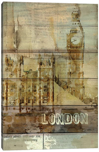 Big Ben, London, England, United Kingdom Canvas Art Print