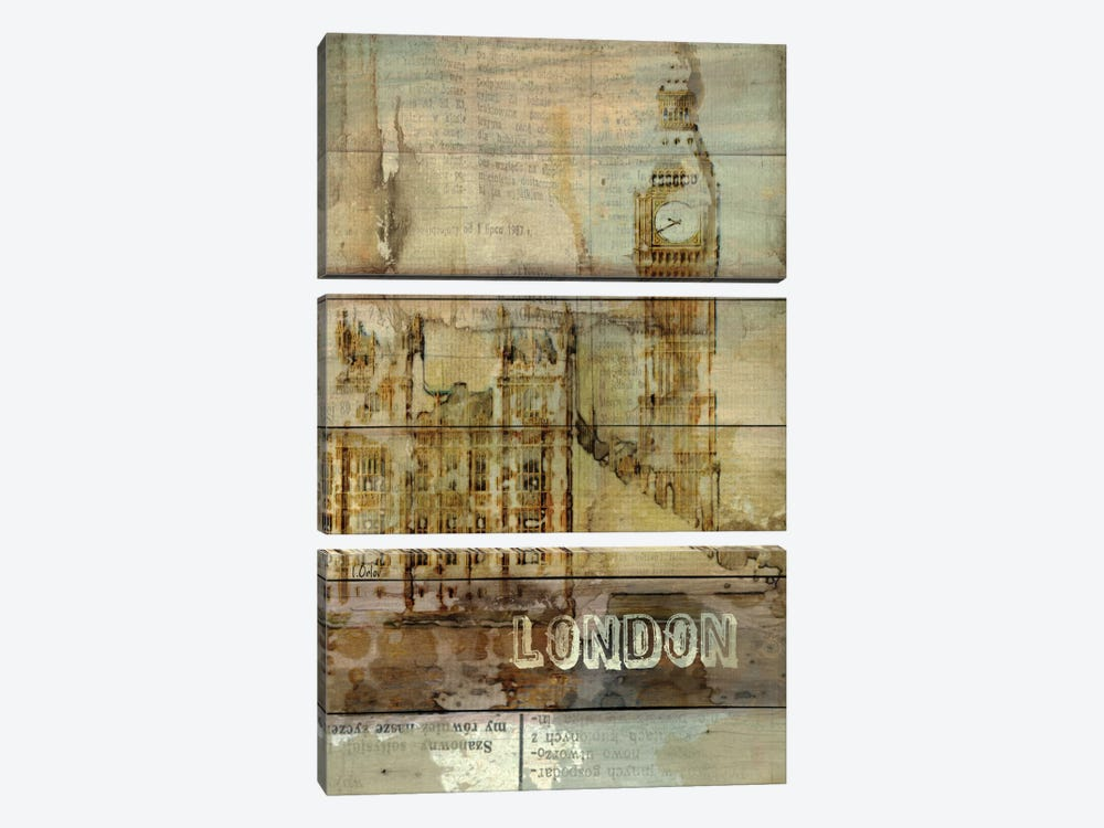 Big Ben, London, England, United Kingdom by Irena Orlov 3-piece Canvas Art Print